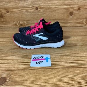Brooks Glycerin 16 Pink/Black Running Shoe